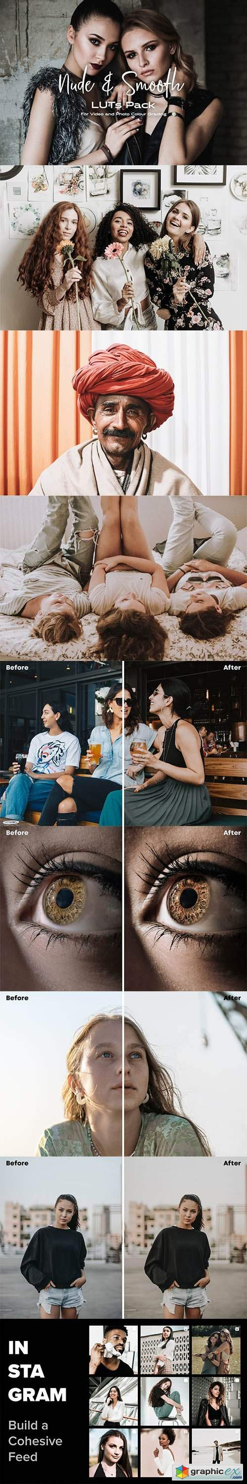 Nude & Smooth Luts Pack