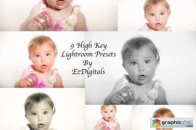 10 High Key Lightroom Presets