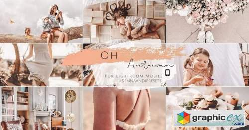 Sienna and I - Oh Autumn Preset Pack