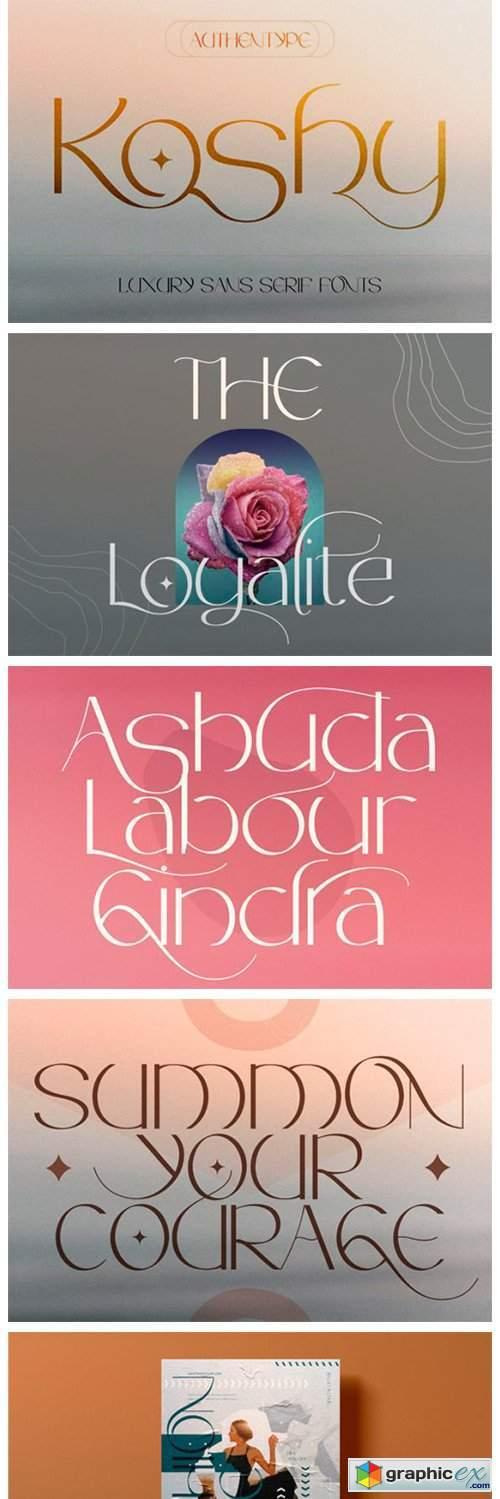 Koshy Font