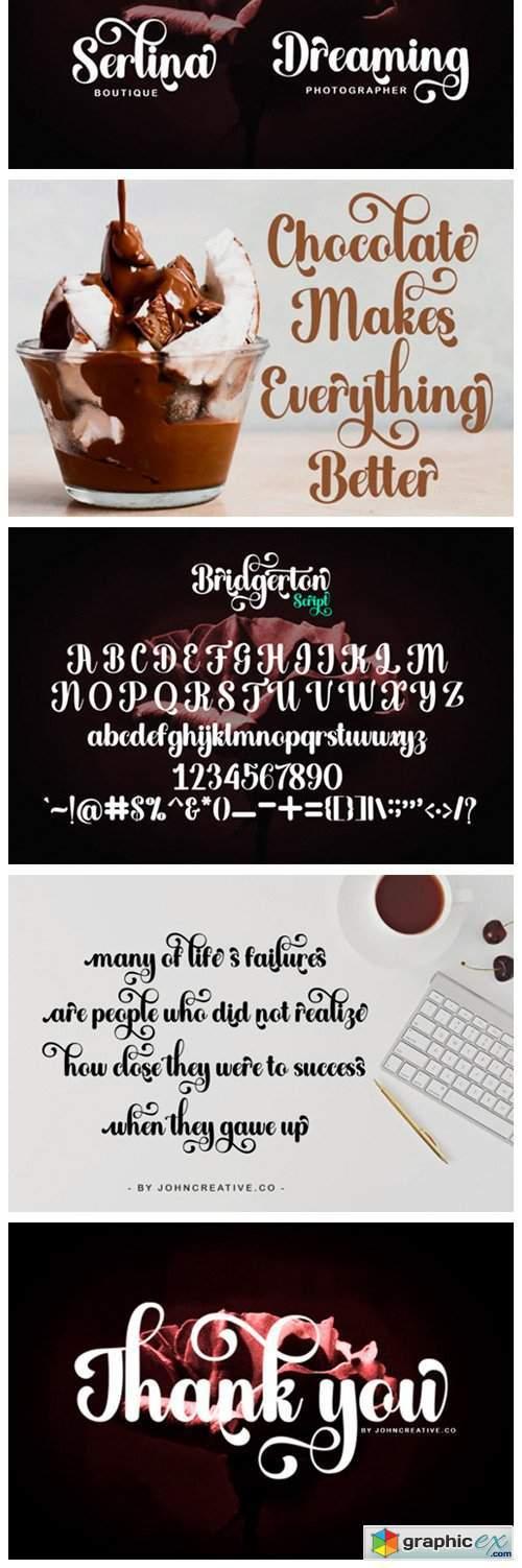 Bridgerton Font