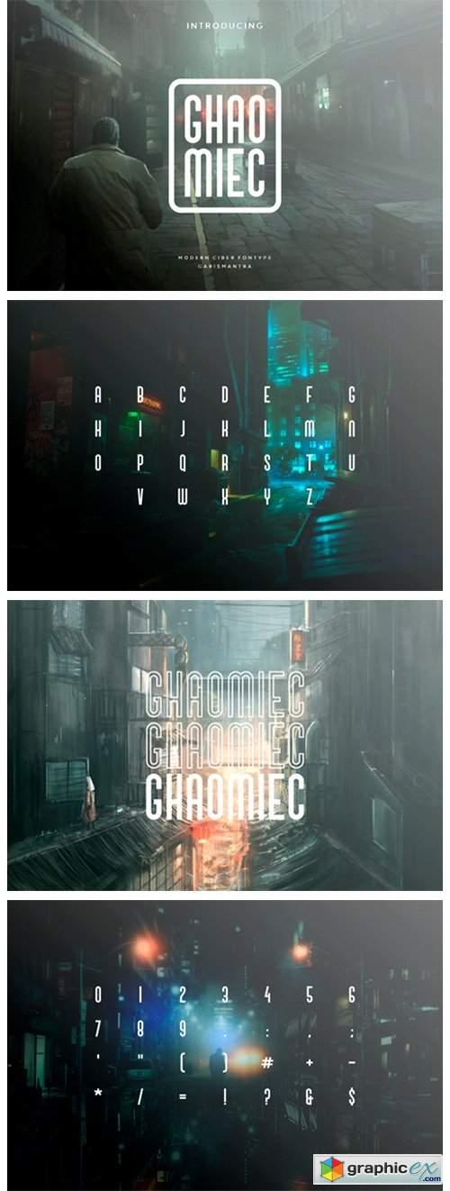 Ghaomiec Font