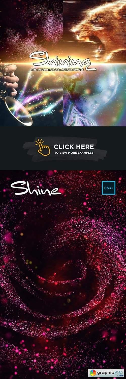 Shining 4 in 1 Bundle for Adobe Photoshop CS3+
