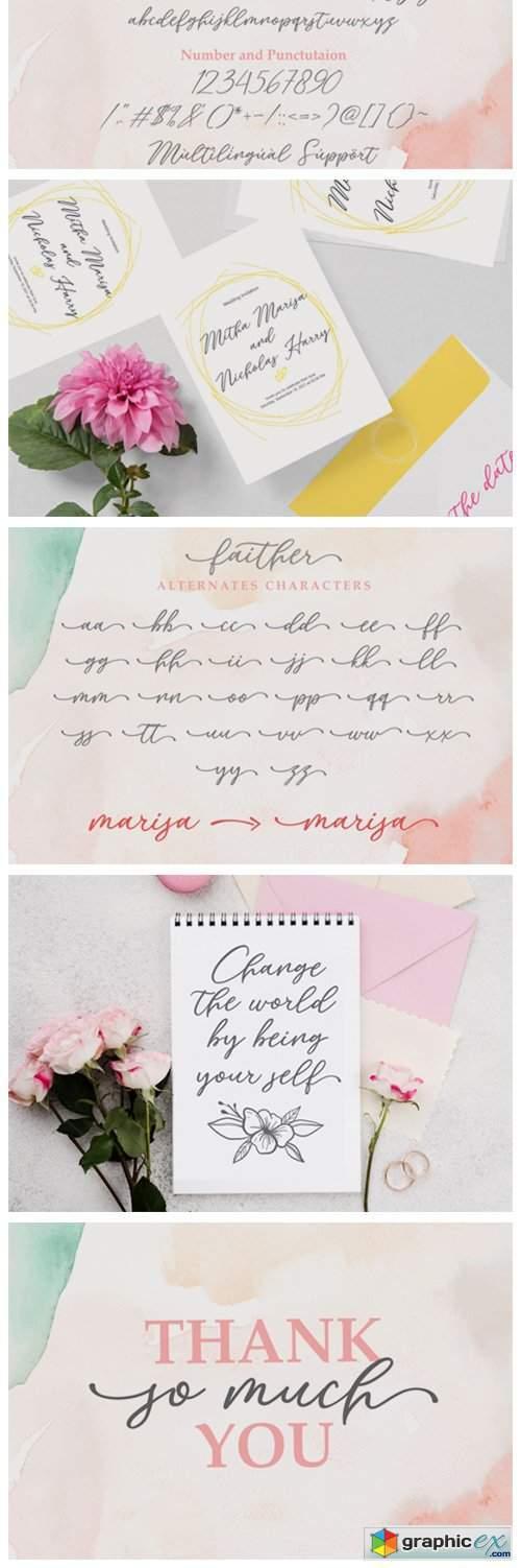 Faither Font