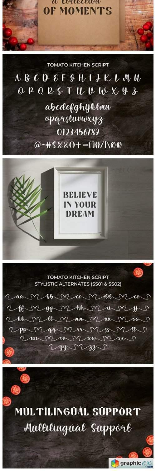 Tomato Kitchen Duo Font