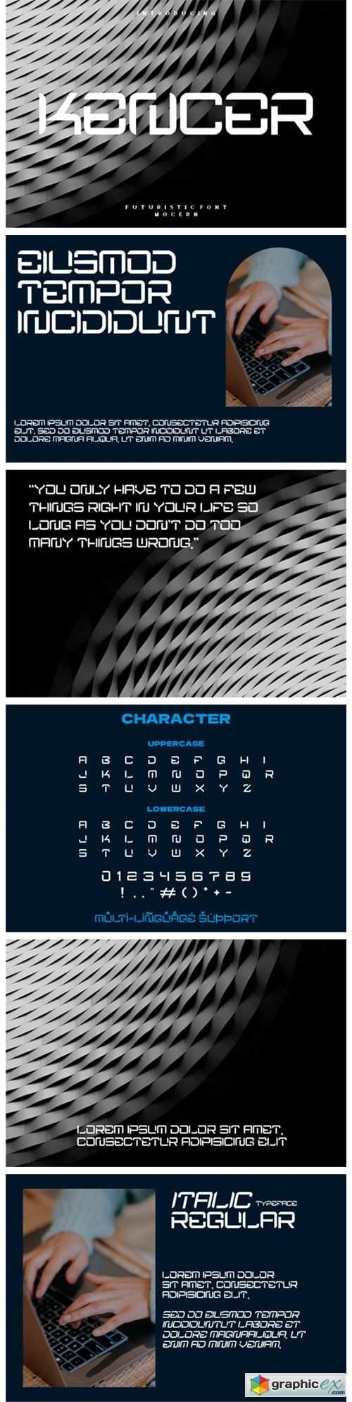 Kencer Font