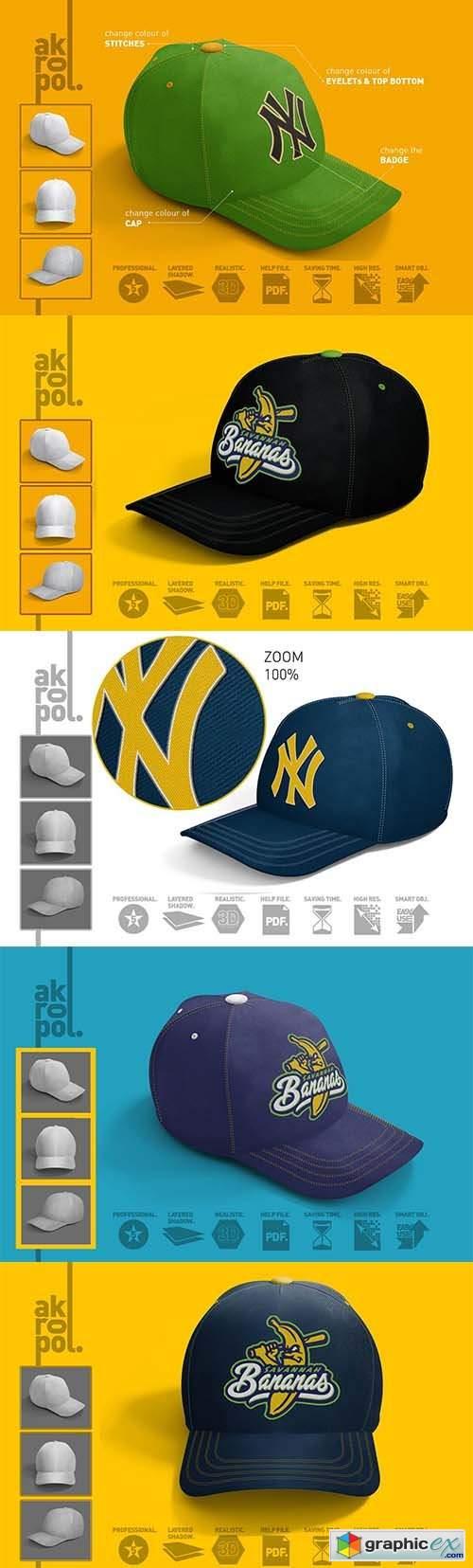 Baseball Cap Mock Up 6426175