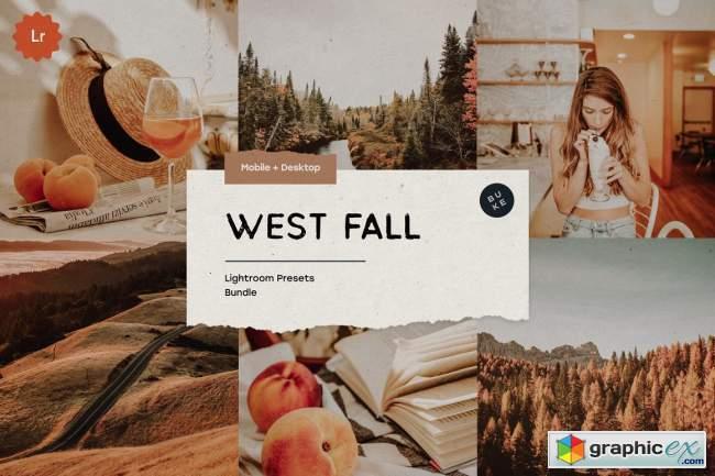 West Fall – 5 Lightroom Presets Pack 5483755